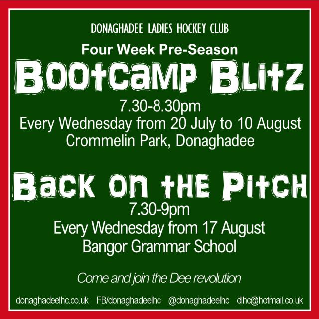 DLHC bootcamp blitz
