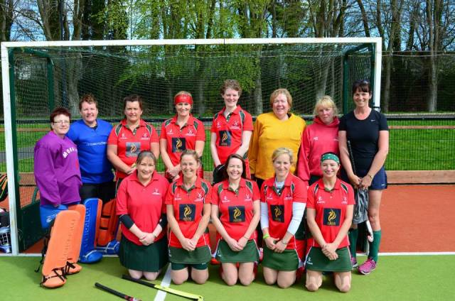 Past and present members of Donaghadee Ladies Hockey Club who took part in Ulster Hockey's Vets Blitz at Stormont last Saturday. Back row (l-r): Janice McVeigh, Siobhan McAdam, Lisa Alexander, Tori Rollo, Carolyn Scott, Alison McNeice, Nicky Banford, Orla Edgar Front row (l-r): Joanne Vennard, Karen Fegan, Lisa Higgins, Kerrie Turtle, Maura Hennessey