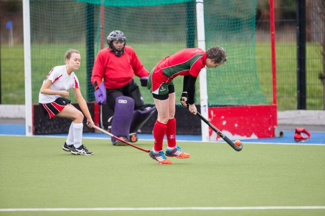 Carolyn in action against South Antrim