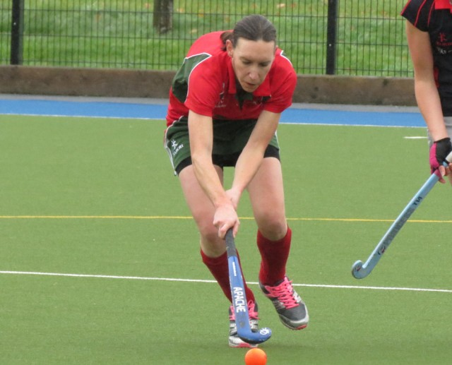 Emily was on target with her third goal of the season