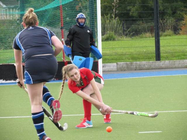 Natalie in control in defence against Saintfield