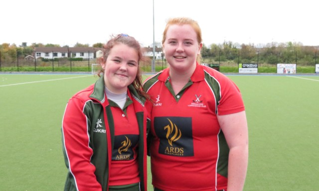 Scorers against Castle: Vicky and Hannah