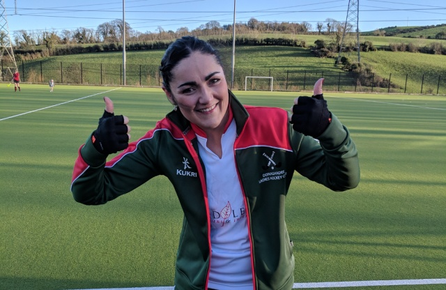 A captain's performance and goal too for Sarah-Louise against Larne